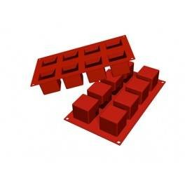 Moules silicone 8 cubes.