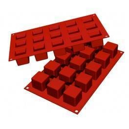 Moules silicone 15 cubes.