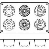Moules silicone 6 kouglofs.