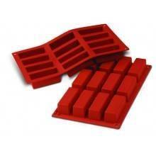 Moules silicone 12 mini cakes.