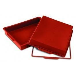 Moule rectangle silicone.