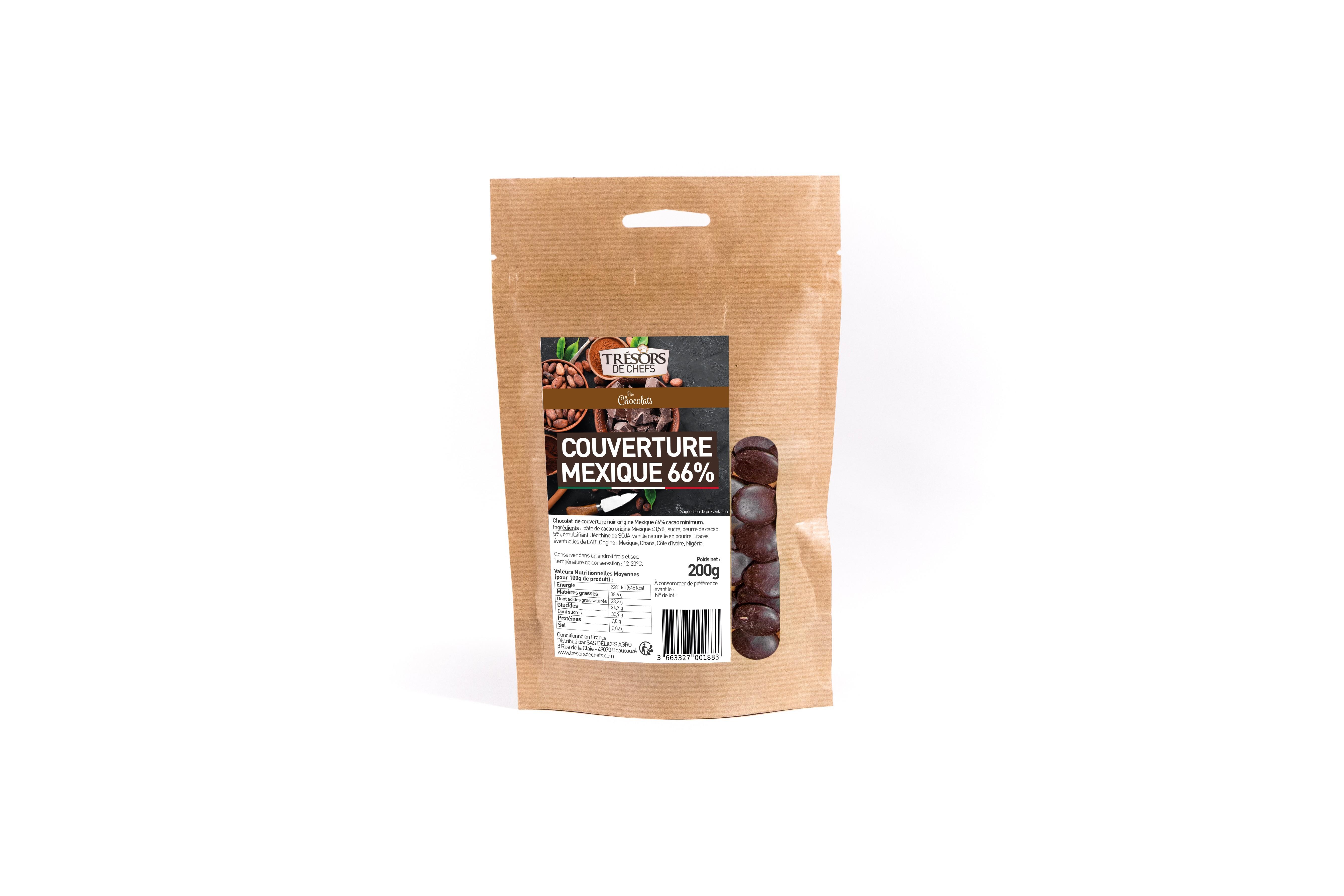 Chocolat noir Mexique - 200g