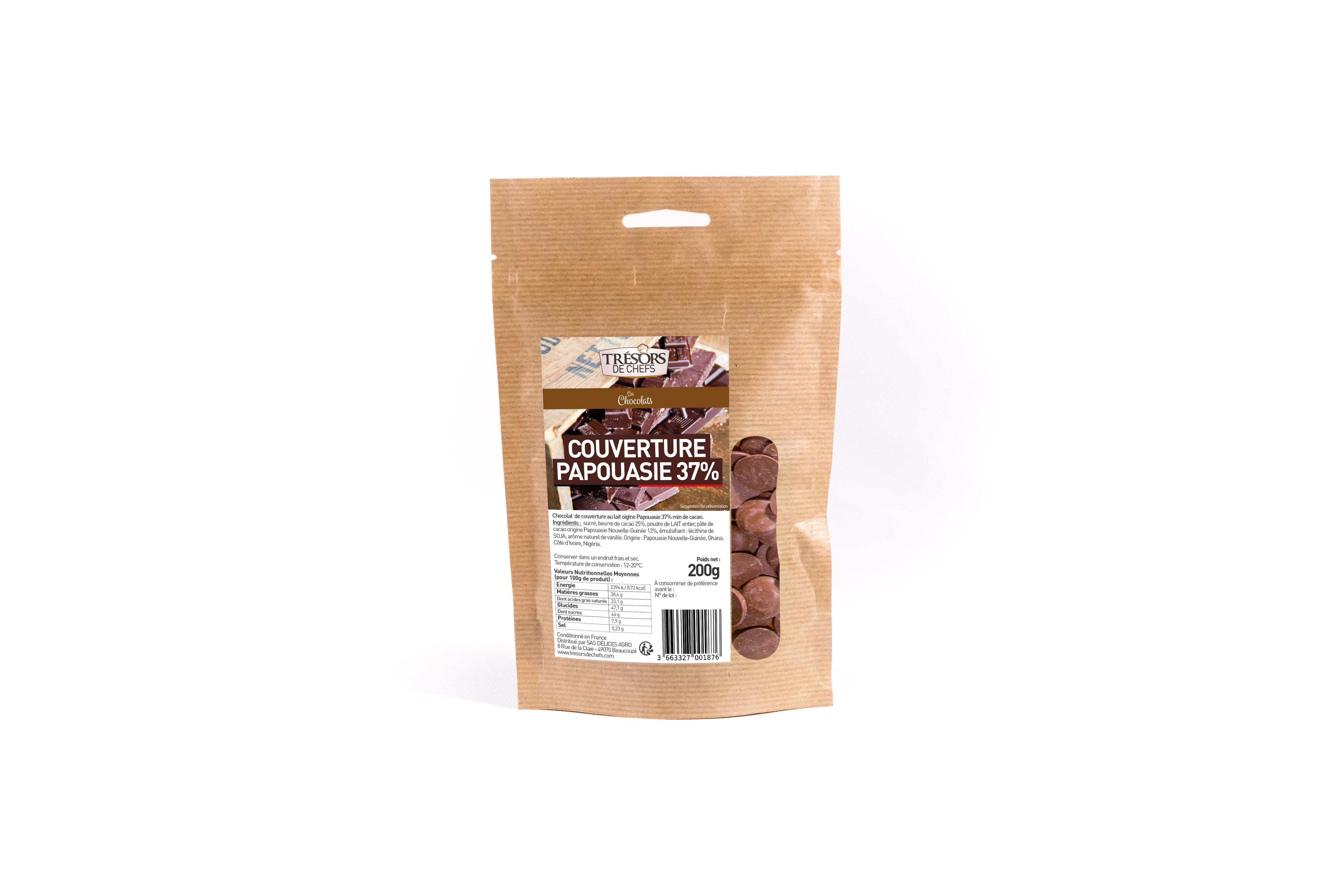 Chocolat au lait - 200g