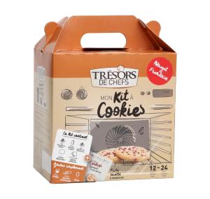 Mon Kit Cookies Nougat Framboise