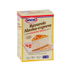 Bavarois Alaska Miel-Noug. - 1kg