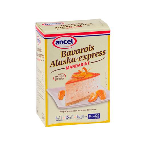 Bavarois Alaska Mandarine - 1kg