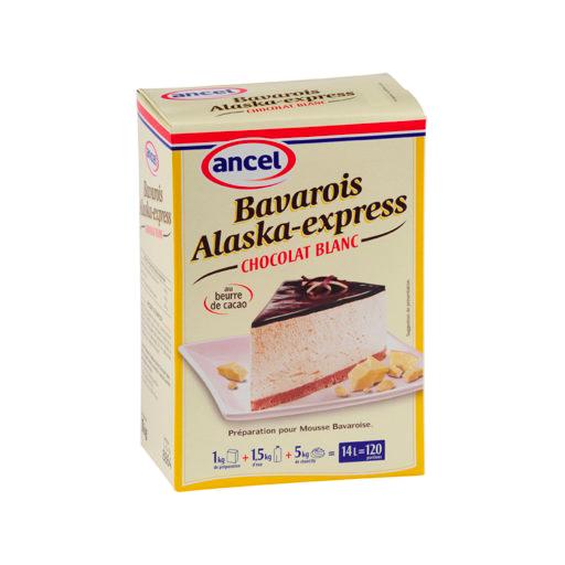 Bavarois Alaska Cho. blanc - 1kg