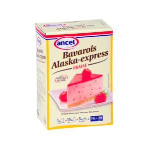 Bavarois Alaska Fraise - 1kg