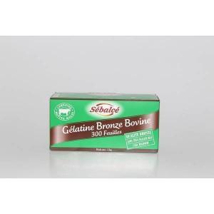 Gélatine bovine - 300 feuilles