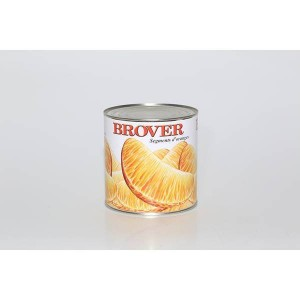Segments d'oranges au sirop - 3/1