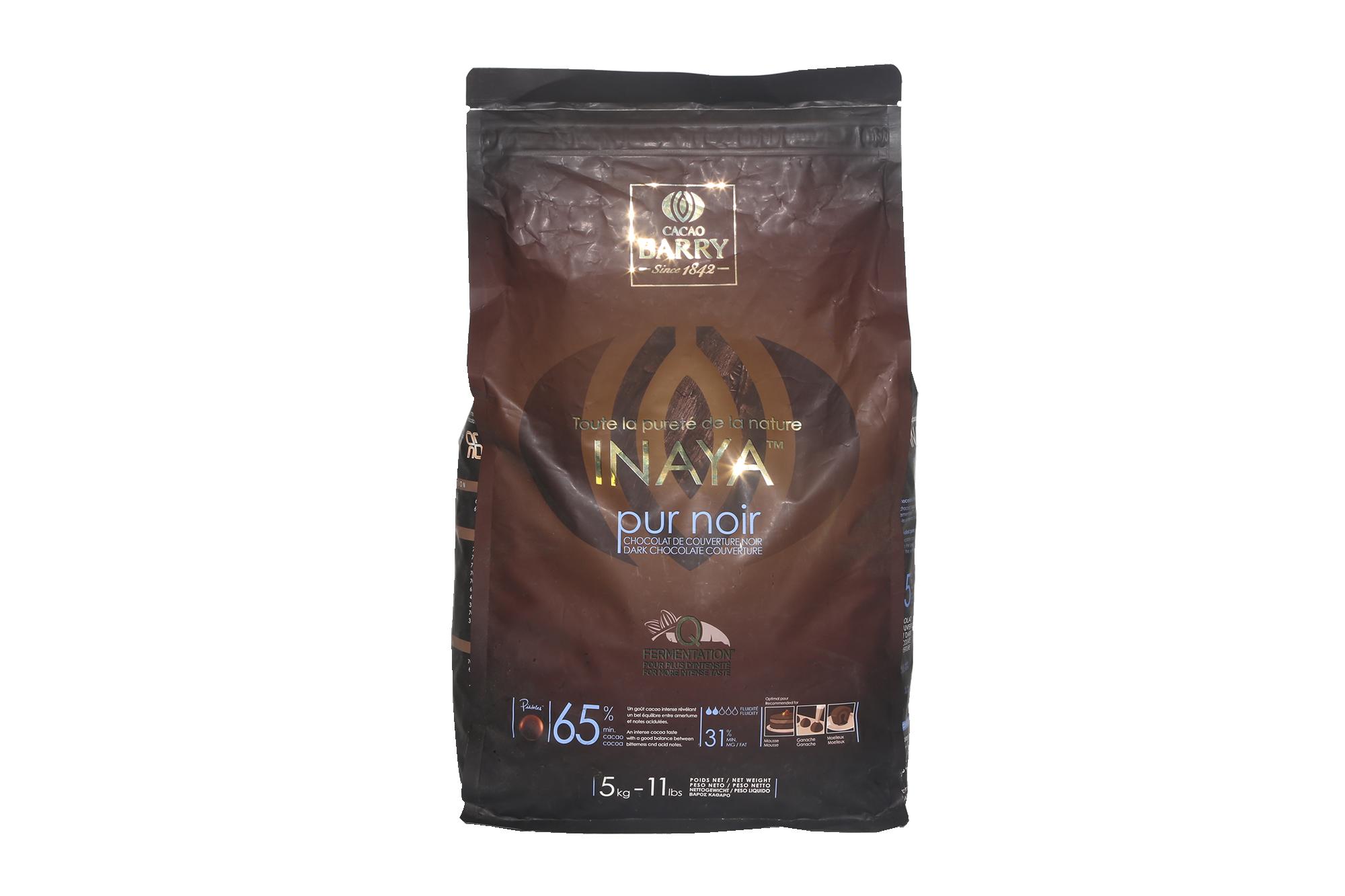 Chocolat noir Inaya 65% - 5kg