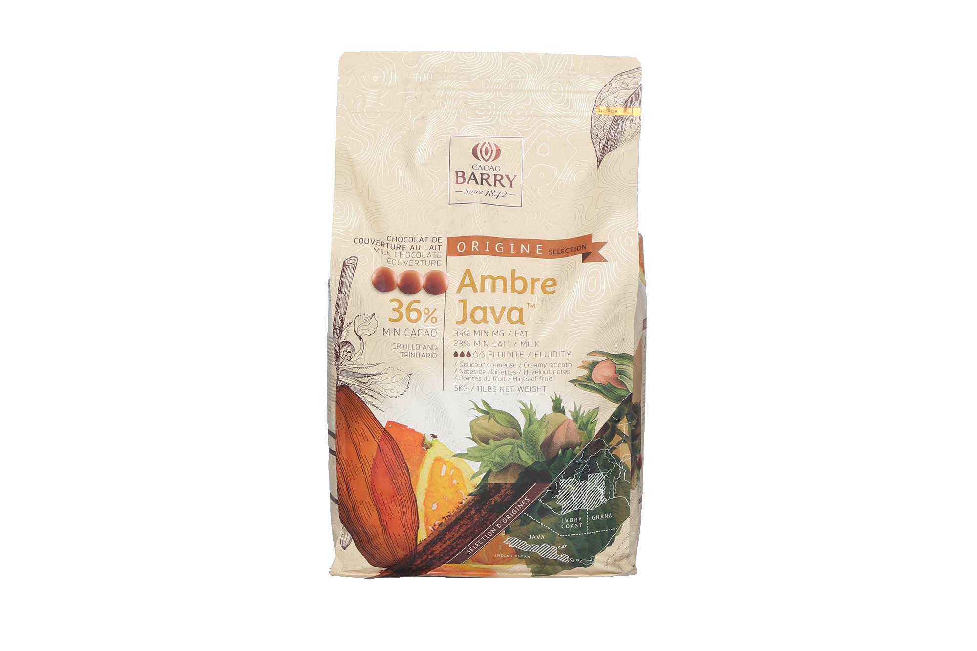 Chocolat Ambre Java 36% - 5kg