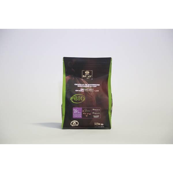 Chocolat lait Bio 38,8% 2.5Kg