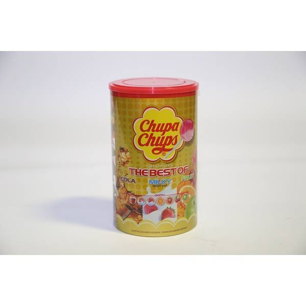 Chupa chups assorties - 150 pcs