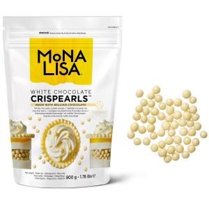 Crispearls chocolat blanc - 800g