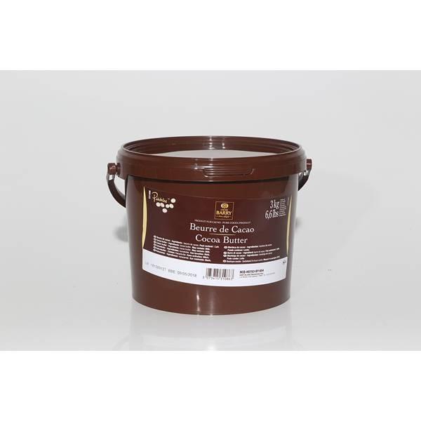Beurre de cacao - 3kg