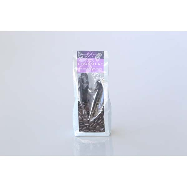Dragées Mini-coeurs - 250g - Chocolat