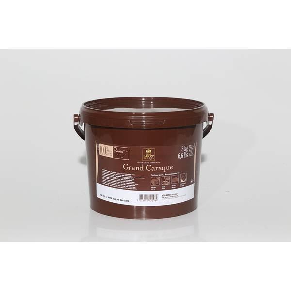Pâte cacao Grand Caraque - 3kg