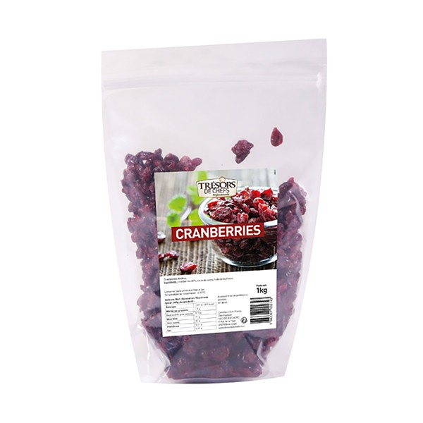 Cranberries séchées