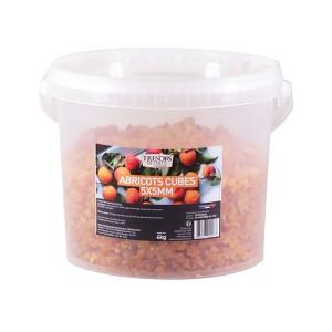 Abricots secs en cubes - 4 kg