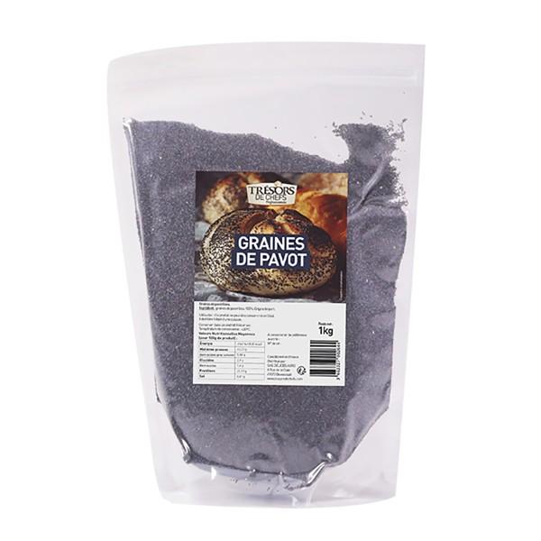 Graines de pavot bleu - 1 kg