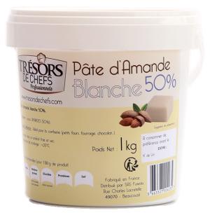 Pâte d'amande blanche 50% - 1kg