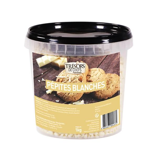 Pépites de chocolat blanc - 1 kg