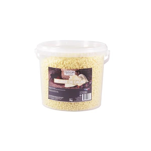 Beurre de cacao - 3 kg
