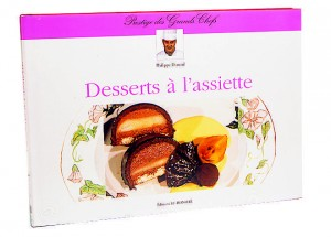 Les desserts à l'assiette.