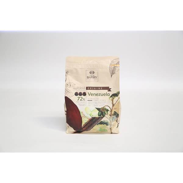 Chocolat noir Venezuela 72% - 2.5 kg