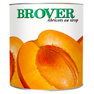Abricots oreillons sirop - 3/1