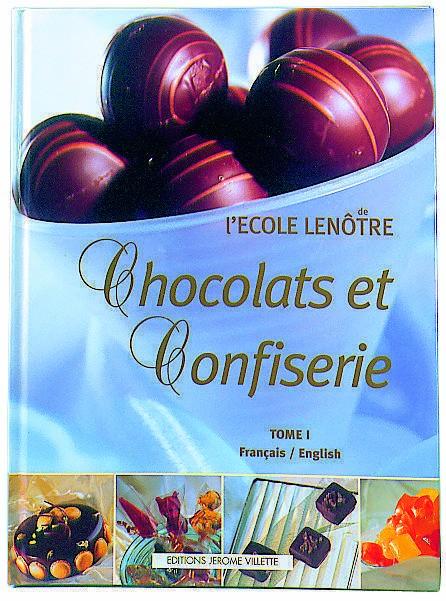 Les décors fins de l'école Lenôtre chocolats et confiserie