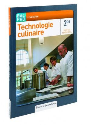 Livre technologie culinaire