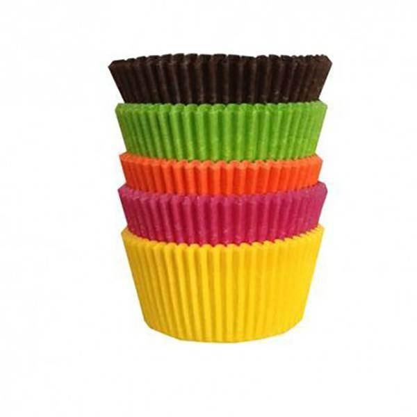 Caissettes de couleur - x100
