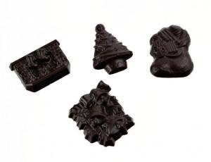 Plaque mini-décors noël