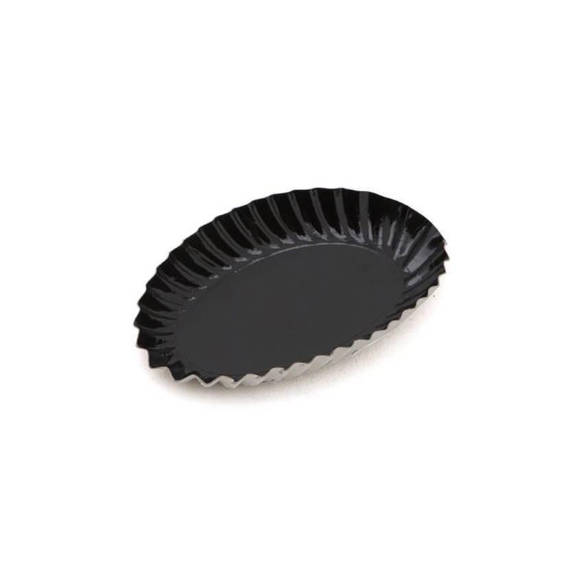 Mini assiette noire - x100