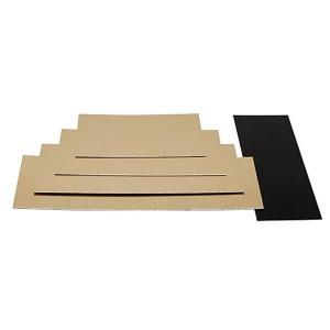 Semelle à bûche or/noir - x50 - 6.2 cm
