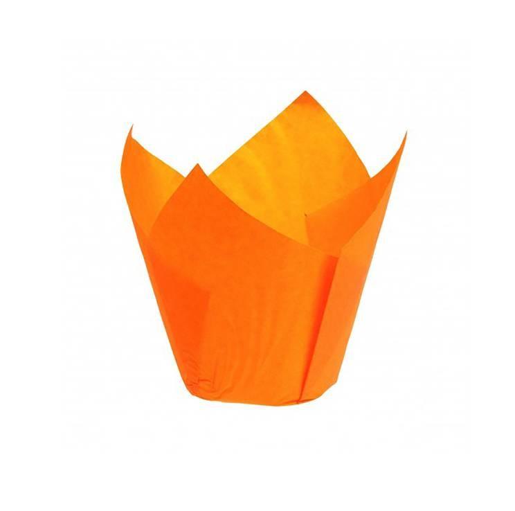 Caissette Tulipcup orange - x200