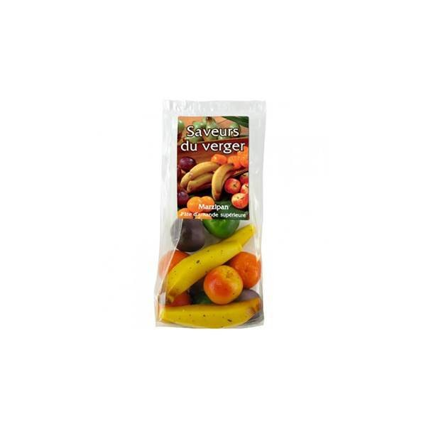 Pâte d'amande Fruits - 100g