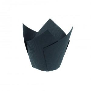 Caissette Tulipcup noire - x200