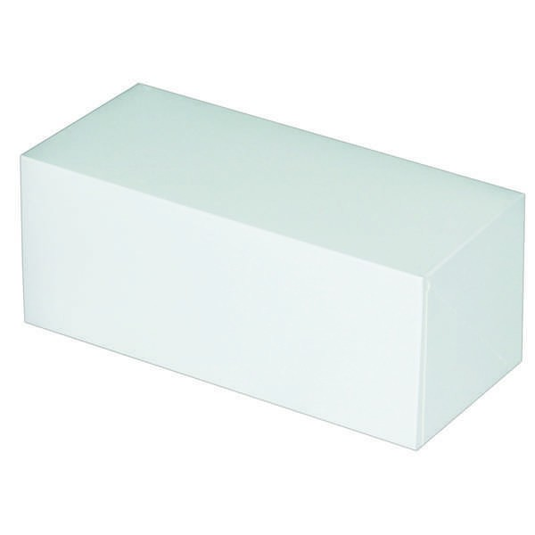 Boîte à bûche blanche - x25 - 30 cm
