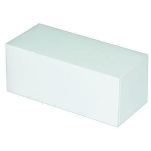 Boîte à bûche blanche - x25 - 20 cm