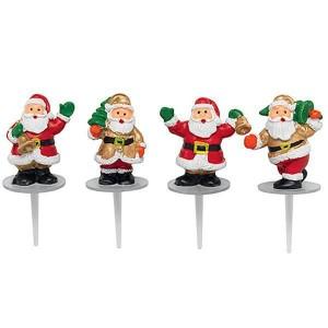 Pères Noël cloche et sapin