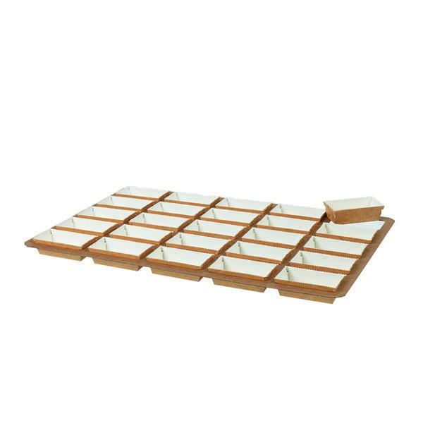 Plaque de moules Easy Bake - x25