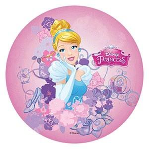 Disque azyme  - 21cm - Cendrillon princesse