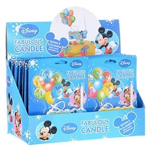 Bougie musicale Disney