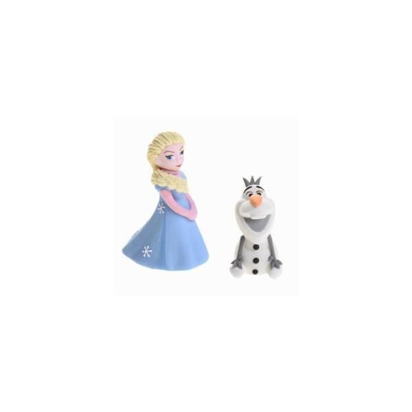 Elsa et Olaf en sucre