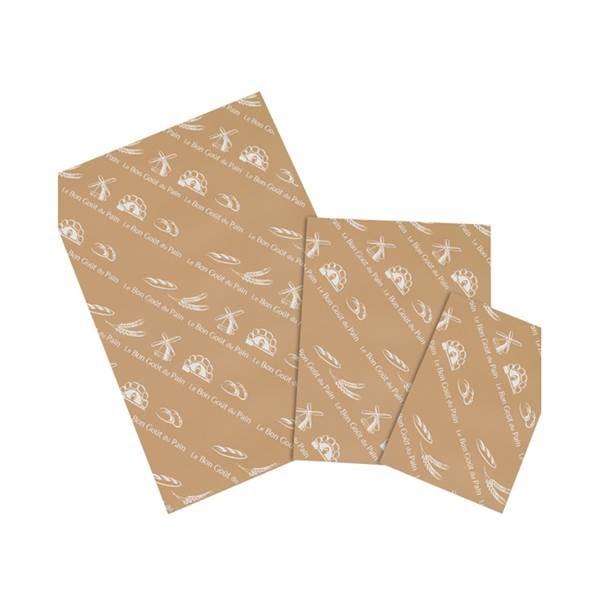 Papier mousseline brun - 40 x 60 cm