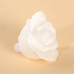 Bougie fleur blanche - x4
