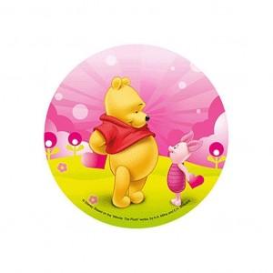 Disque azyme - 21cm - Winnie & Pooh
